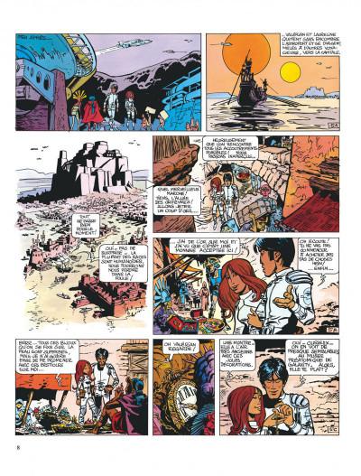 Page 8 Valérian tome 2 - l'empire des mille planètes