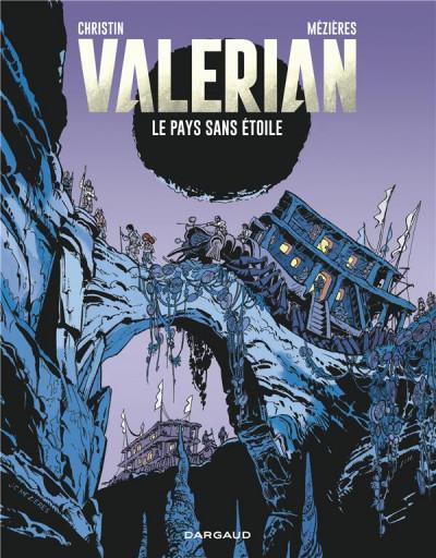 Couverture Valérian tome 3 - le pays sans étoile