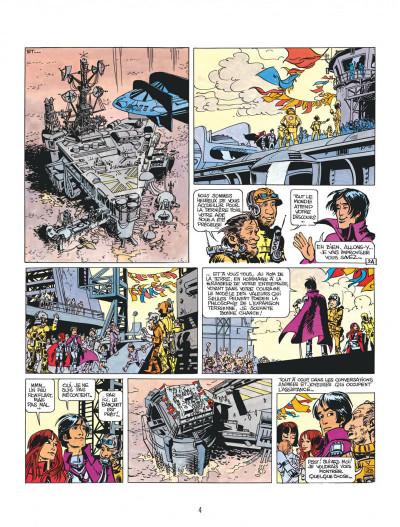 Page 4 Valérian tome 3 - le pays sans étoile