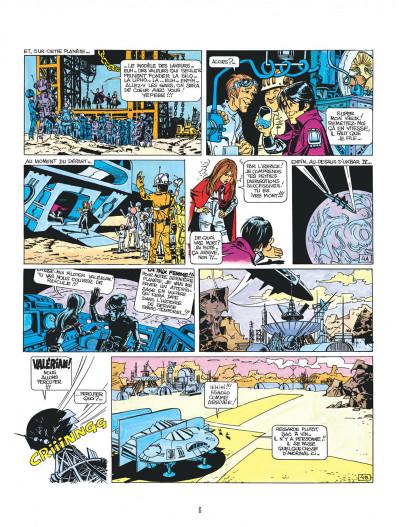 Page 6 Valérian tome 3 - le pays sans étoile