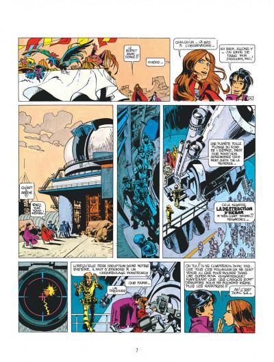 Page 7 Valérian tome 3 - le pays sans étoile
