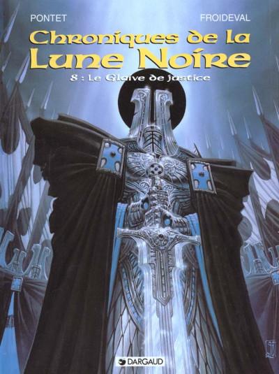 Couverture Chroniques de la lune noire tome 8 - le glaive de justice