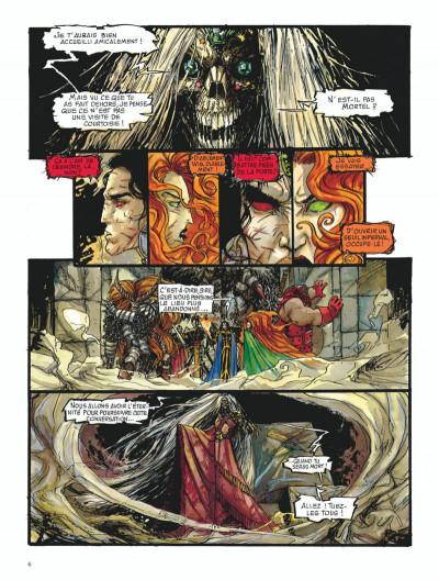 Page 6 Chroniques de la lune noire tome 8 - le glaive de justice