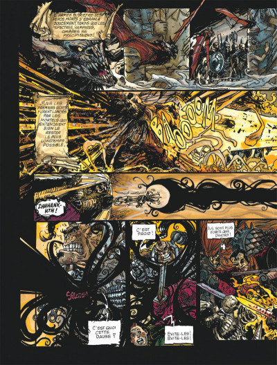 Page 8 Chroniques de la lune noire tome 8 - le glaive de justice