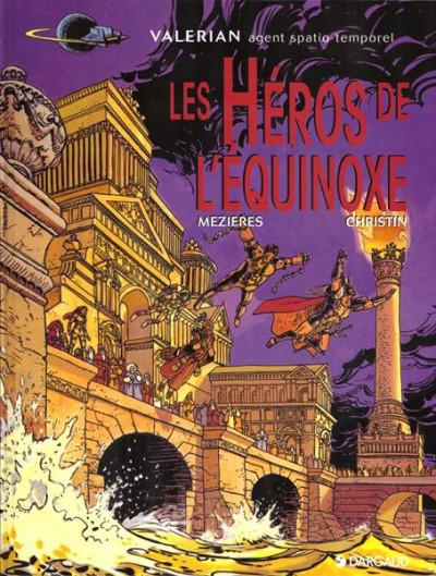 Couverture Valérian tome 8 - les héros de l'equinoxe