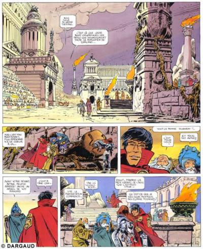 Page 1 Valérian tome 8 - les héros de l'equinoxe