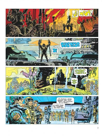 Page 3 Valérian tome 8 - les héros de l'equinoxe