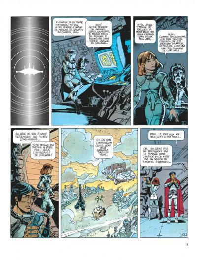 Page 5 Valérian tome 8 - les héros de l'equinoxe