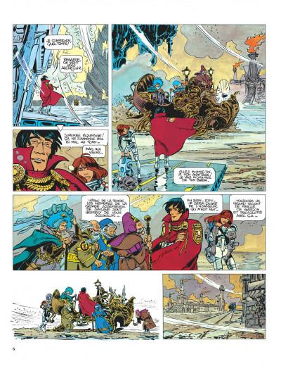 Page 6 Valérian tome 8 - les héros de l'equinoxe