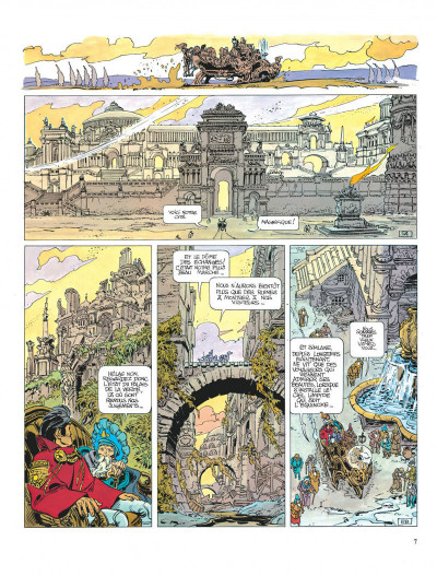Page 7 Valérian tome 8 - les héros de l'equinoxe
