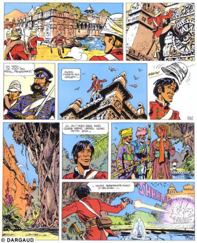 Page 1 Valérian tome 7 - sur les terres truquées