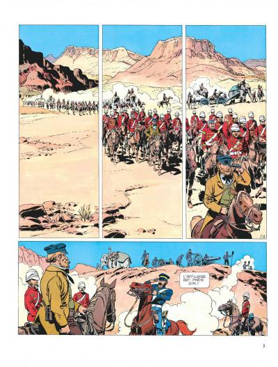 Page 3 Valérian tome 7 - sur les terres truquées