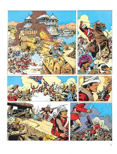 Page 5 Valérian tome 7 - sur les terres truquées