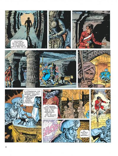 Page 8 Valérian tome 7 - sur les terres truquées