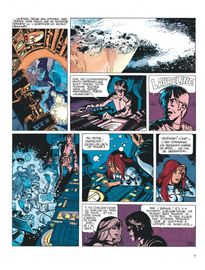 Page 5 Valérian tome 4 - bienvenue sur aflolol