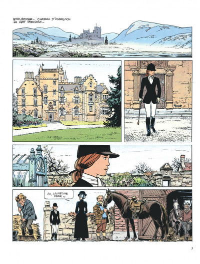 Page 3 Valérian tome 11 - les spectres d'inverlock