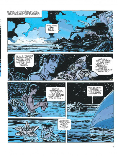 Page 7 Valérian tome 11 - les spectres d'inverlock