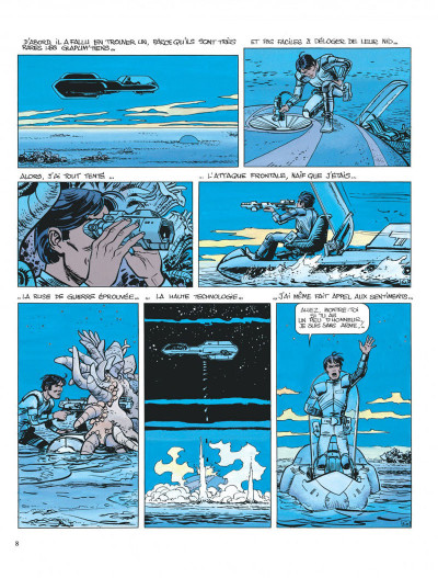 Page 8 Valérian tome 11 - les spectres d'inverlock