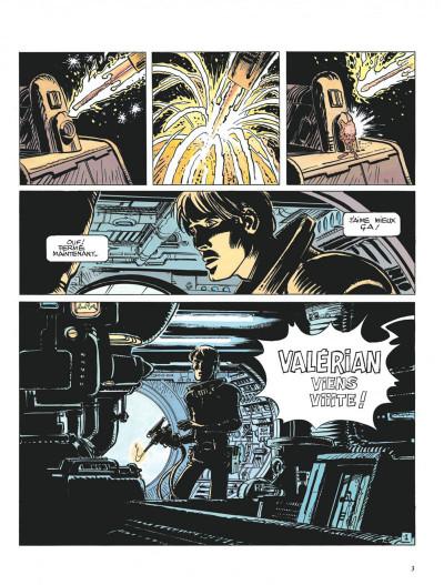 Page 3 Valérian tome 14 - les armes vivantes