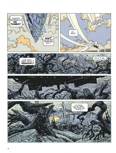 Page 8 Valérian tome 14 - les armes vivantes