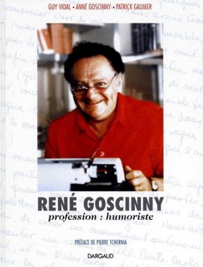 Couverture René goscinny, profession humoriste