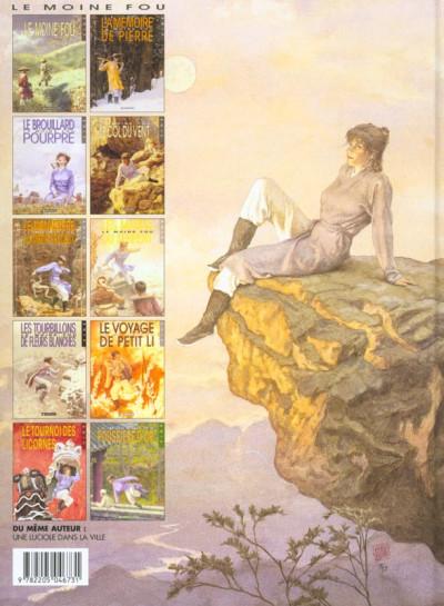Dos Le moine fou tome 10 - la poussière d'or