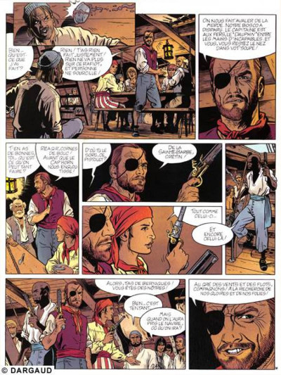 Page 1 Barbe rouge tome 25