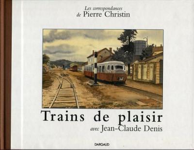 Couverture trains de plaisir