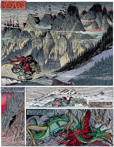 Page 1 Percevan tome 11 - les sceaux de l'apocalypse