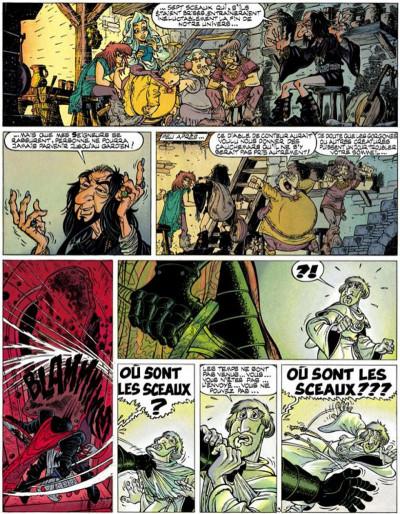 Page 3 Percevan tome 11 - les sceaux de l'apocalypse