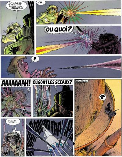 Page 4 Percevan tome 11 - les sceaux de l'apocalypse