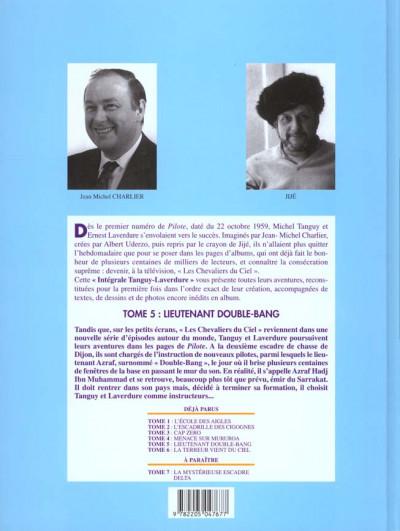 Dos Tanguy et laverdure - intégrale tome 5 - lieutenant double bang