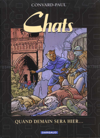 Couverture Chats tome 5 - quand demain sera hier