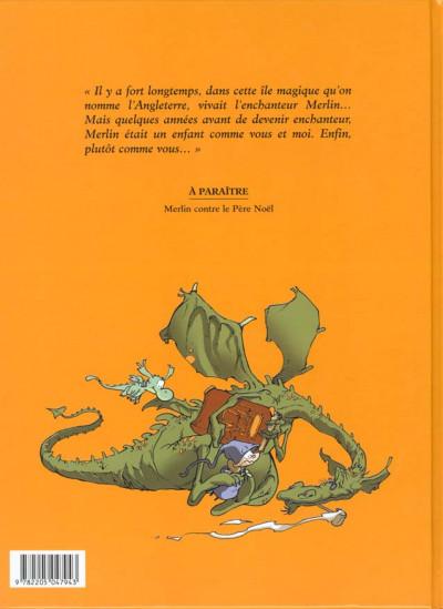 Dos Merlin tome 1 - jambon et tartine