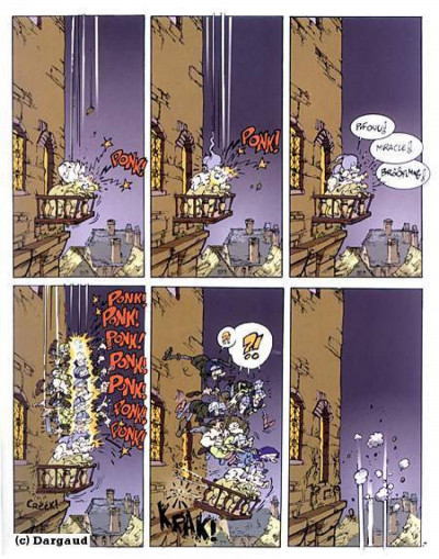 Page 1 Merlin tome 1 - jambon et tartine