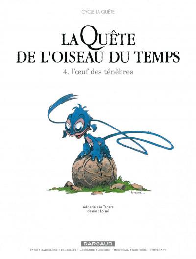 Page 1 La quête de l'oiseau du temps tome 4 - l'oeuf des ténèbres
