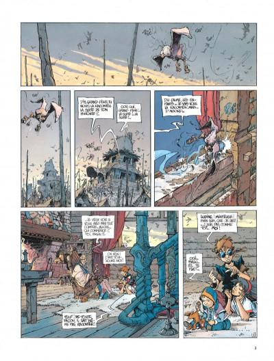 Page 3 La quête de l'oiseau du temps tome 4 - l'oeuf des ténèbres