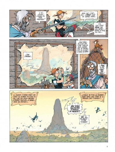 Page 5 La quête de l'oiseau du temps tome 4 - l'oeuf des ténèbres