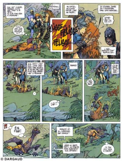 Page 1 La quête de l'oiseau du temps tome 3 - le rige