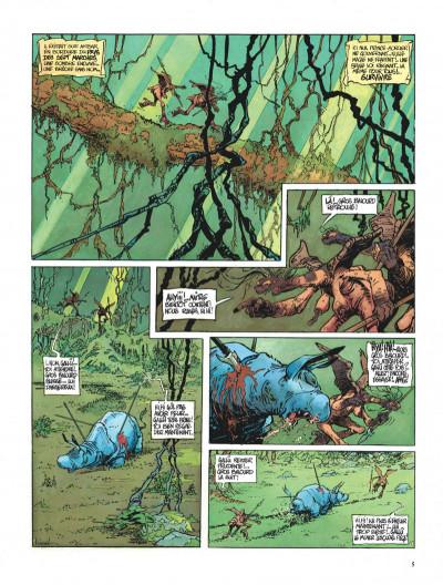 Page 5 La quête de l'oiseau du temps tome 3 - le rige