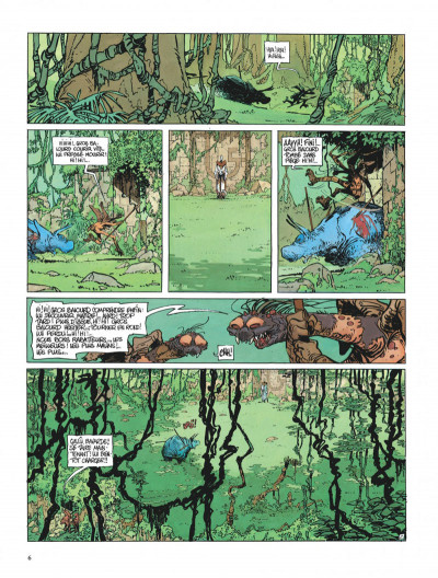 Page 6 La quête de l'oiseau du temps tome 3 - le rige