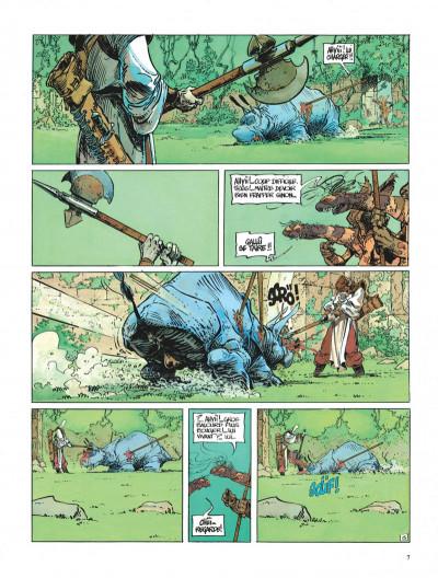 Page 7 La quête de l'oiseau du temps tome 3 - le rige