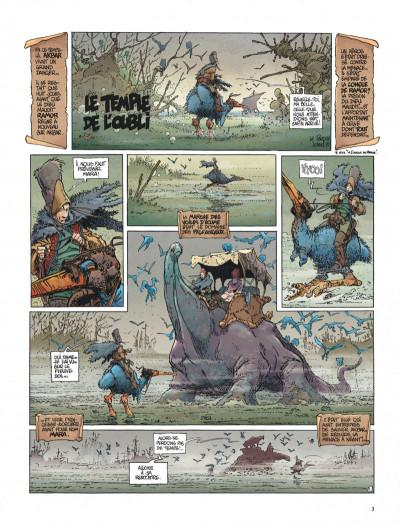 Page 3 La quête de l'oiseau du temps tome 2 - le temple de l'oubli