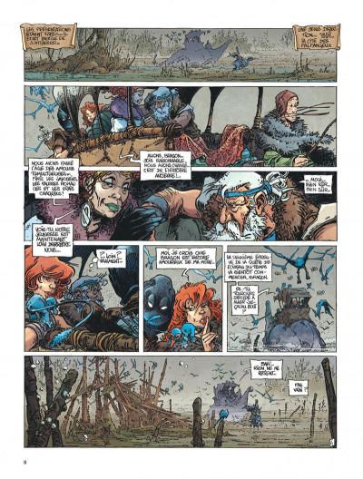 Page 8 La quête de l'oiseau du temps tome 2 - le temple de l'oubli