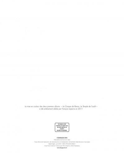 Page 2 La quête de l'oiseau du temps tome 1 - la conque de ramor