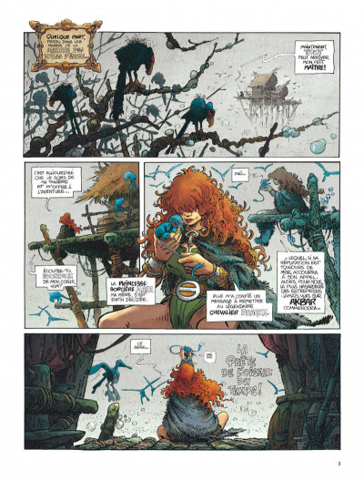 Page 3 La quête de l'oiseau du temps tome 1 - la conque de ramor