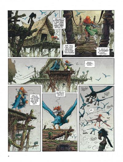 Page 4 La quête de l'oiseau du temps tome 1 - la conque de ramor