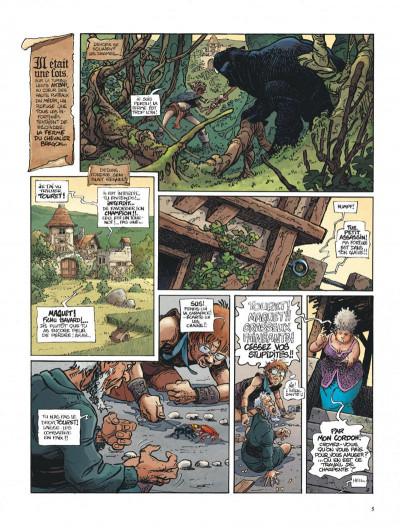 Page 5 La quête de l'oiseau du temps tome 1 - la conque de ramor