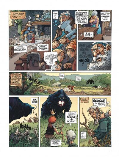 Page 7 La quête de l'oiseau du temps tome 1 - la conque de ramor