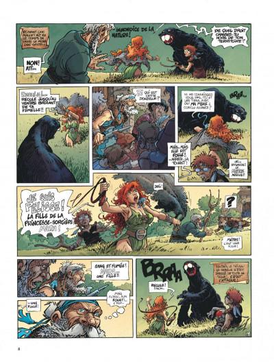 Page 8 La quête de l'oiseau du temps tome 1 - la conque de ramor
